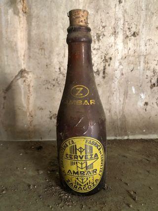 Botella vacía de Ámbar