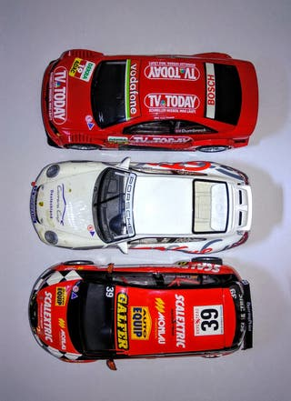 Pack de 7 Coches Scalextric