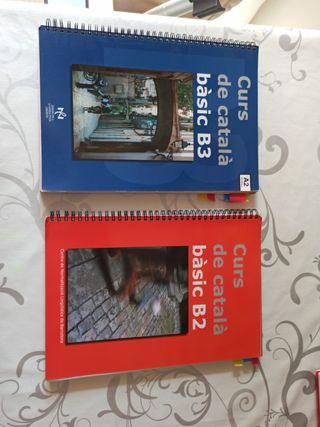 Libros de Catalán Bàsic B2 y B3