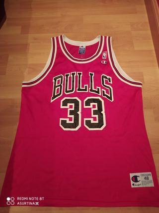 Camiseta champion pippen bulls