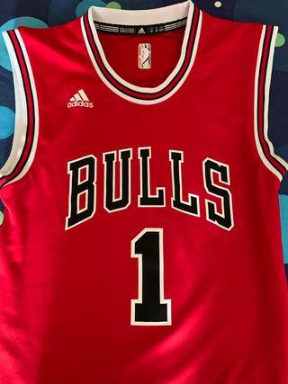 Camiseta de Baloncesto De los Adidas Bulls