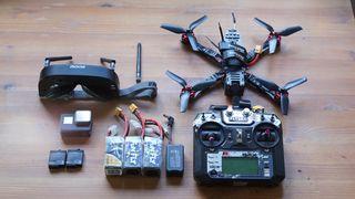 Dron FPV + Gopro 5 COMPLETO