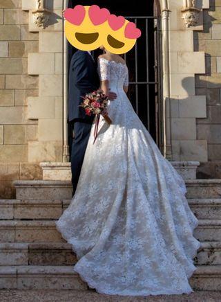 Vestido de novia Pronovias (modelo Mundo)