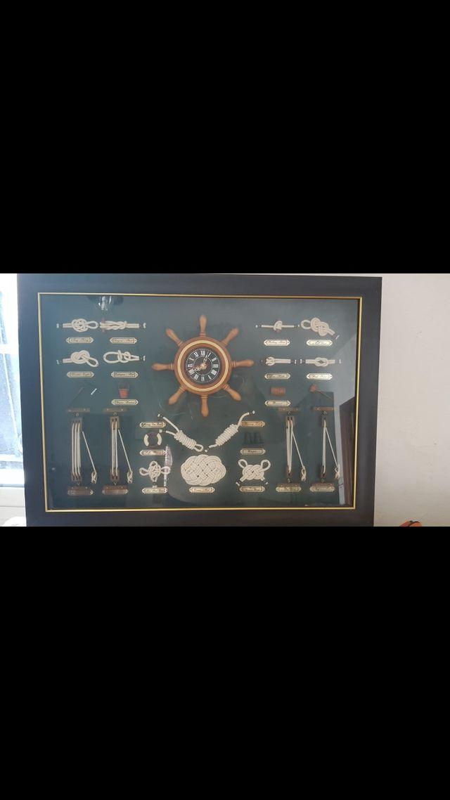 Cuadro de nudos marineros
