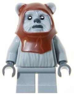 Minifigura LEGO Star Wars - CHIEF CHIRPA (EWOK)