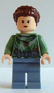 Minifigura LEGO Star Wars - PRINCESA LEIA (HOTH)
