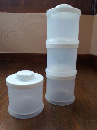 Contenedores de leche Chicco