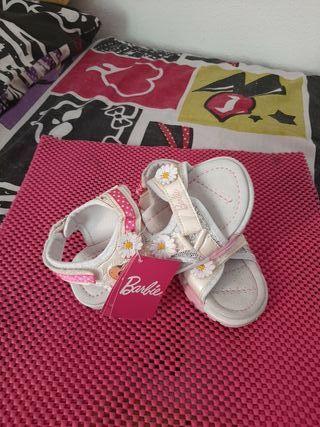 sandalias de niña Barbie original