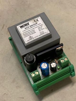 Fuente alimentación carril 24V dc 500ma