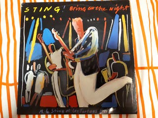Vinilo Sting Bring on the night