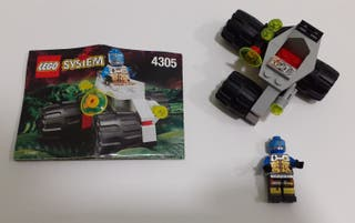 Set Lego System Space Cyborg Scout 4305