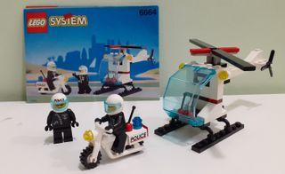 Set Lego System Policías 6664