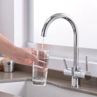 grifo 3 vías para osmosis inversa, fría y caliente