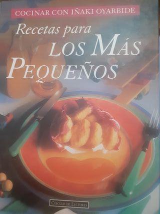 Libro recetas para niños