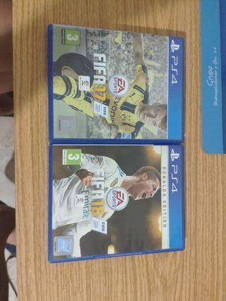 FIFA 17 Y 18 PS4