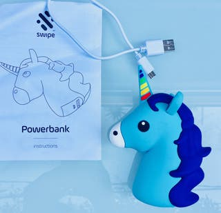 Cargador Unicornio POWERBANK, perfecto
