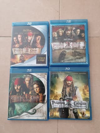 piratas del caribe bluray