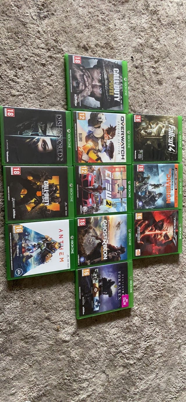 Xbox Games - Read description