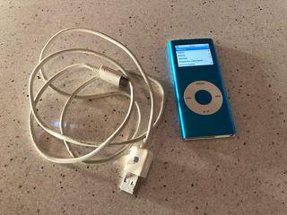iPod nano (2a generación) azul 4GB