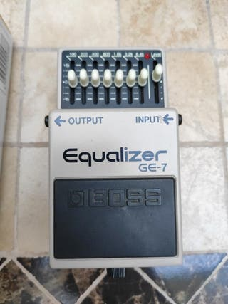 Pedal Equalizer GE-7 BOSS