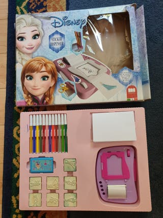 Disney Frozen - CREA Tus Pegatinas