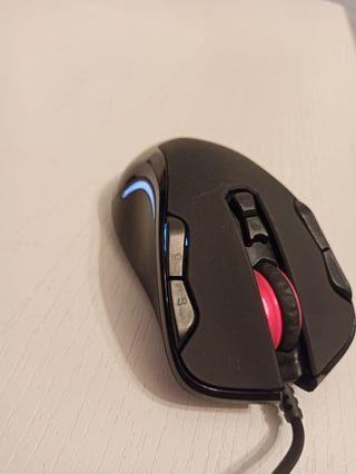 Ratón ordenador gamer