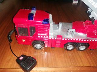 Camión de bomberos juguete