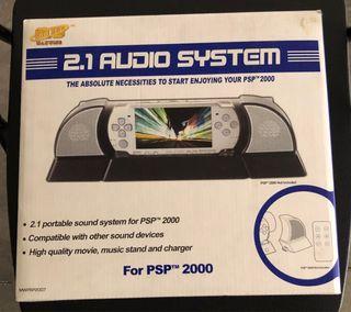 Sistema de audio psp 2000
