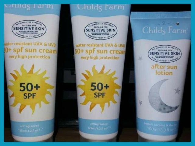 Child's Farm Genuine Sun Cream Sets