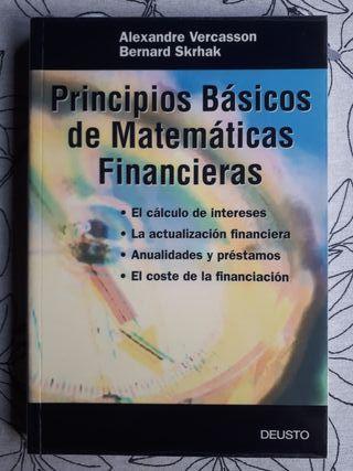 PRINCIPIOS BÁSICOS DE MATEMÁTICAS FINANCIERAS