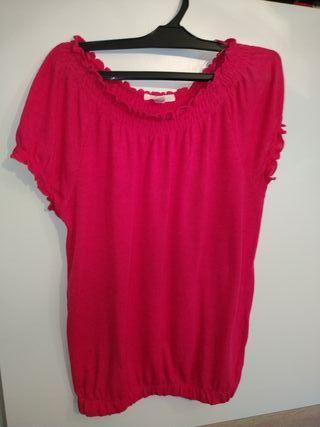 camiseta /blusa hombros descubiertos