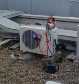 Reparación instalación aire acondicionado