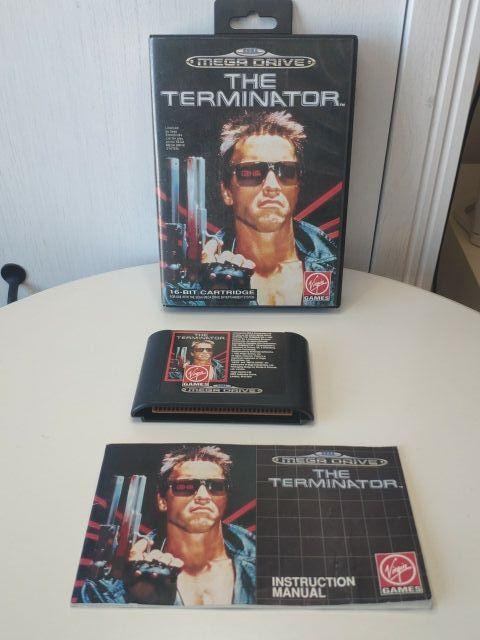 juego Terminator de Sega mega Drive completo