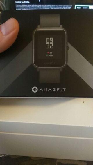 Smartwatch Xiaomi AMAZFIT BIP Negro nuevo
