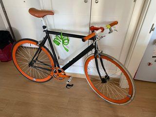 Bicicleta one speed con frenos