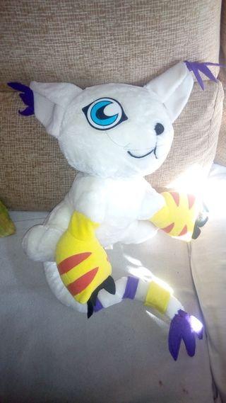 Muñeco peluche Digimon Gatomon