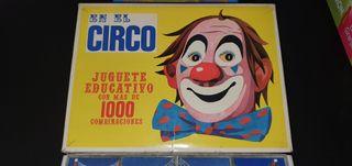 Puzzle Circo juguete educativo 1000 combinaciones