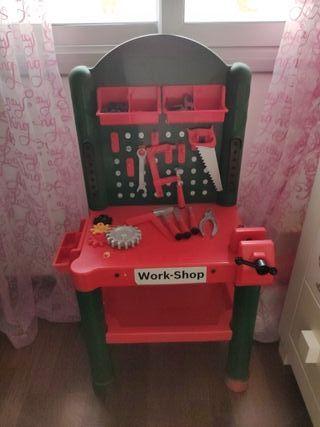 Banco de trabajo #juguete