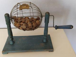 Antiguo juguete,loteria