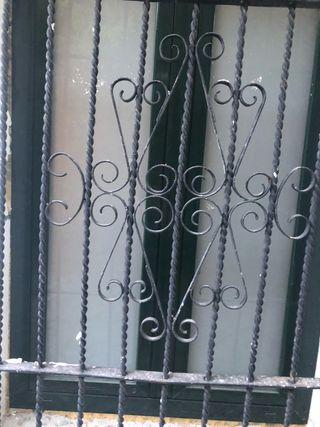 Rejas para ventana de forja