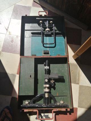 Telescopio o microscopio antiguo