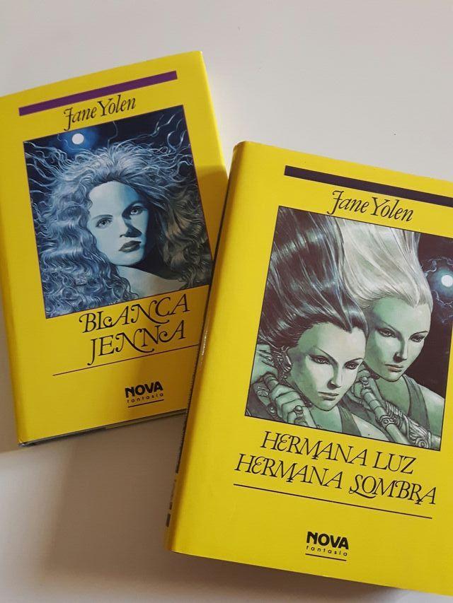 2 LIBROS DE CIENCIA FICCIÓN X 8 EUROS.