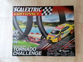 SCALEXTRIC COMPACT(tornado challenge)