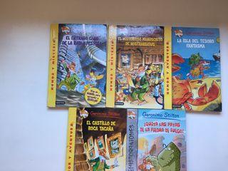 Libros de la colección Gerónimo Stilton