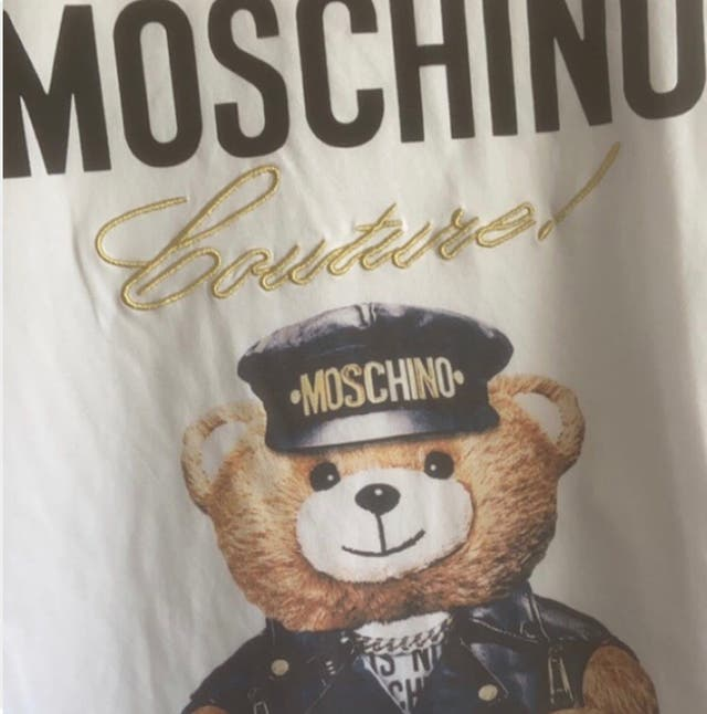 Moschino Couture Teddy bear T-shirt