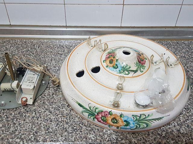 lámpara Plafón de cocina de cerámica