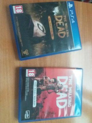 Videojuegos Walking Dead PS4