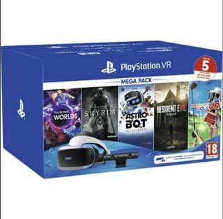 Pack VR - PlayStation Gafas VR Cámara VR 2.0
