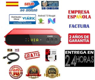 Receptor Satelite Viark Droi Nuevo Factura 24H