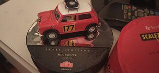 Scalextric Mini Cooper Vintage Rally Monte Carlo